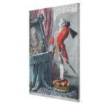 Elevación señorial, pub. por Hannah Humphrey, 1802 Impresiones En Lona Estiradas