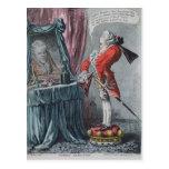 Elevación señorial, pub. por Hannah Humphrey, 1802 Postal