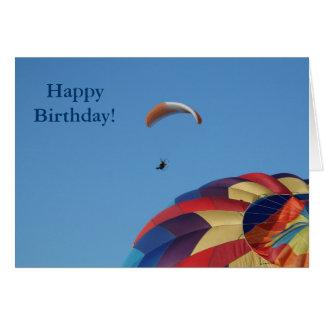 ¡Elevación sobre los globos! Tarjeta De Felicitación