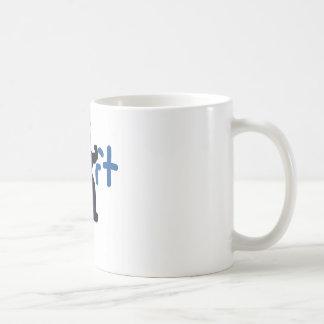 Elevación Taza De Café