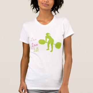 Elevación viva del amor - Crossfit Camiseta