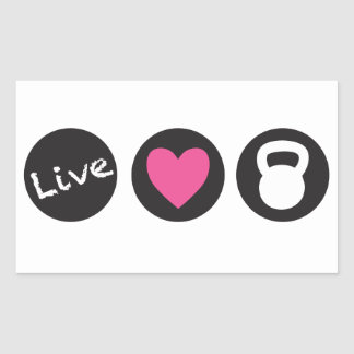 Elevación viva del amor - rectangular altavoces