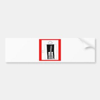 elevador etiqueta de parachoque