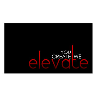 Elevate Business Cards - Shea