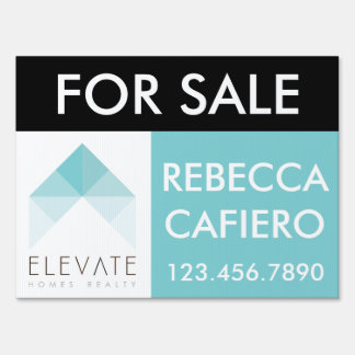 Elevate Homes Realty customizable sign
