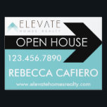 "Elevate Homes Realty open house sign<br><div class=""desc"">Show off your real estate pride with these Elevate Home Realty products.</div>"
