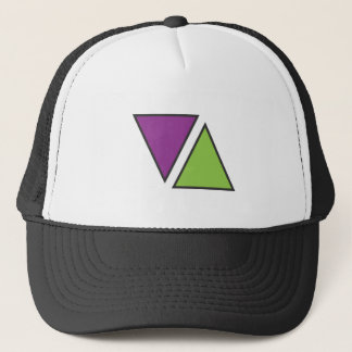 elevate triangle logo.ai trucker hat