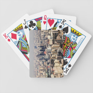 Elevated Beijing Cityscape Bicycle Playing Cards