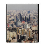 Elevated Beijing Cityscape iPad Cases