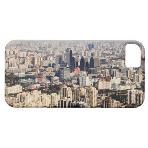 Elevated Beijing Cityscape iPhone 5 Covers
