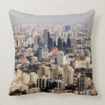 Elevated Beijing Cityscape Pillows