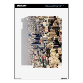 Elevated Beijing Cityscape Decal For iPad 3