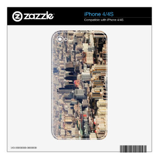 Elevated Beijing Cityscape Decal For The iPhone 4S