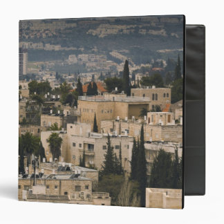 Elevated city view from Jerusalem YMCA tower Binder