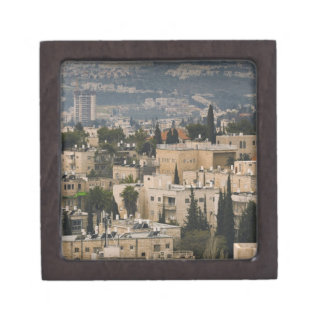 Elevated city view from Jerusalem YMCA tower Gift Box
