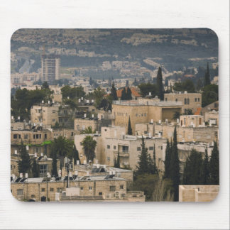 Elevated city view from Jerusalem YMCA tower Mouse Pad