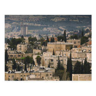 Elevated city view from Jerusalem YMCA tower Postcard