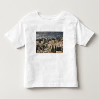 Elevated city view from Jerusalem YMCA tower Toddler T-shirt
