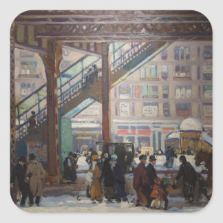 Elevated Columbus Avenue - Gifford Beal Square Sticker