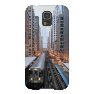 Elevated rail in downtown Chicago over Wabash Galaxy S5 Case