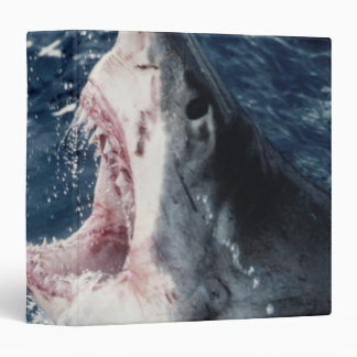 Elevated Shark mouth open 3 Ring Binder