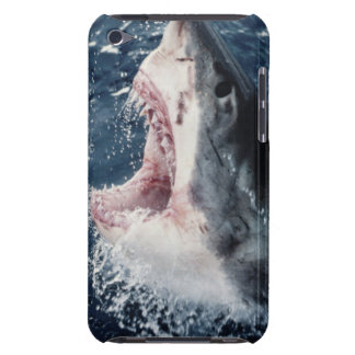 Elevated Shark mouth open Barely There iPod Cover