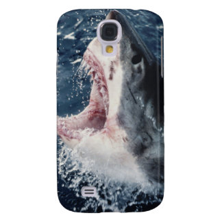 Elevated Shark mouth open Samsung S4 Case