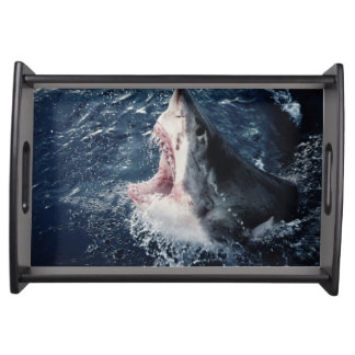 Elevated Shark mouth open Serving Tray