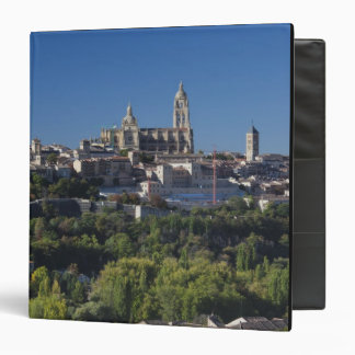 Elevated town view with the Segovia Cathedral Binder