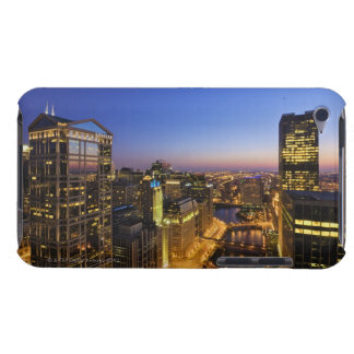 Elevated view, Chicago River iPod Touch Case-Mate Case