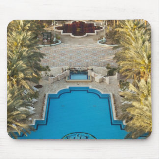 Elevated view Herods Palace Hotel swimming pool Mouse Pad