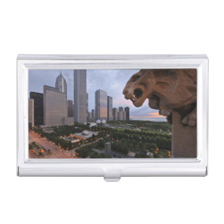 Elevated View of Milennium Park Case For Business Cards