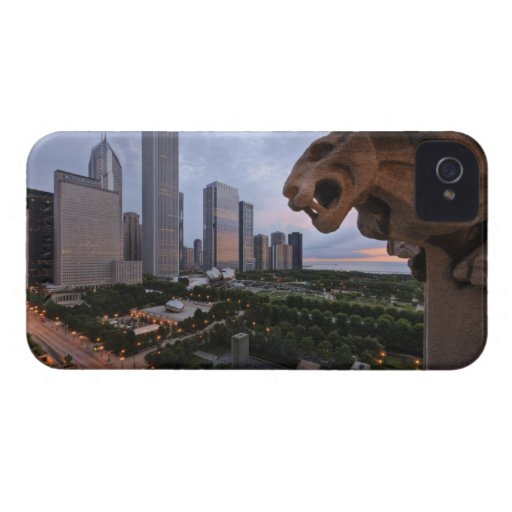 Elevated View of Milennium Park iPhone 4 Cover