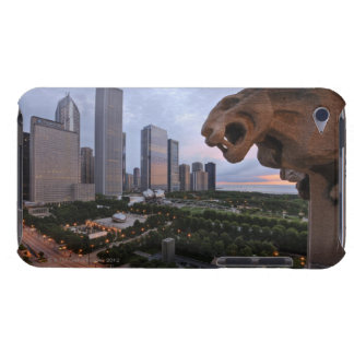 Elevated View of Milennium Park iPod Case-Mate Case
