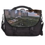 Elevated View of Milennium Park Laptop Messenger Bag