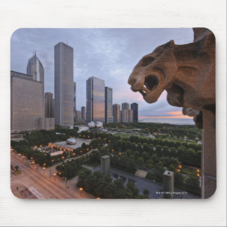 Elevated View of Milennium Park Mouse Pad