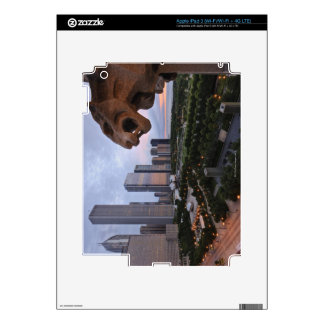 Elevated View of Milennium Park Skins For iPad 3
