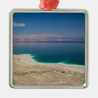 Elevated view of the Dead Sea Metal Ornament