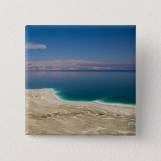 Elevated view of the Dead Sea Pinback Button