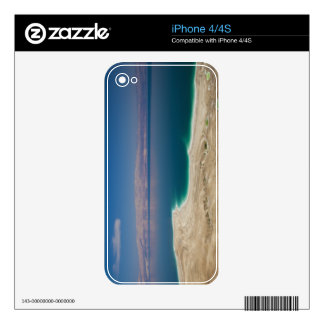 Elevated view of the Dead Sea Skin For The iPhone 4