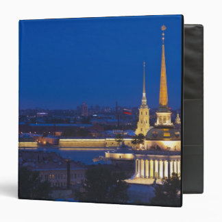 Elevated view of the Television Tower Vinyl Binder