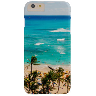 Elevated View Of Waikiki Beach Scene, Honolulu 2 Barely There iPhone 6 Plus Case