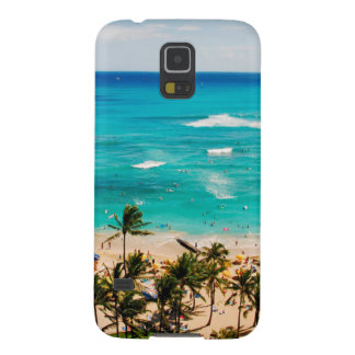 Elevated View Of Waikiki Beach Scene, Honolulu 2 Case For Galaxy S5