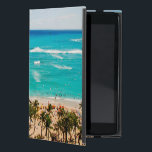 "Elevated View Of Waikiki Beach Scene, Honolulu 2 iPad Mini Cover<br><div class=""desc"">Gallo Images / DanitaDelimont.com USA,  North America,  Hawaii</div>"