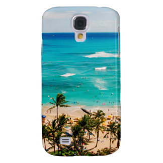 Elevated View Of Waikiki Beach Scene, Honolulu 2 Samsung Galaxy S4 Cover