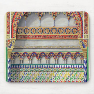 Elevation of an alcove in the Pateo del Agua, Alha Mouse Pad