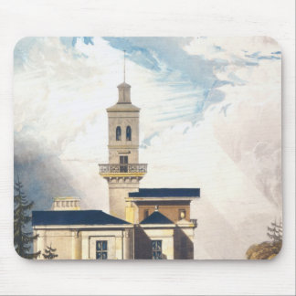 Elevation of an Italian Villa or Hunting Lodge Mouse Pad