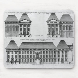Elevation of the Hopital des Enfants Trouves Mouse Pad