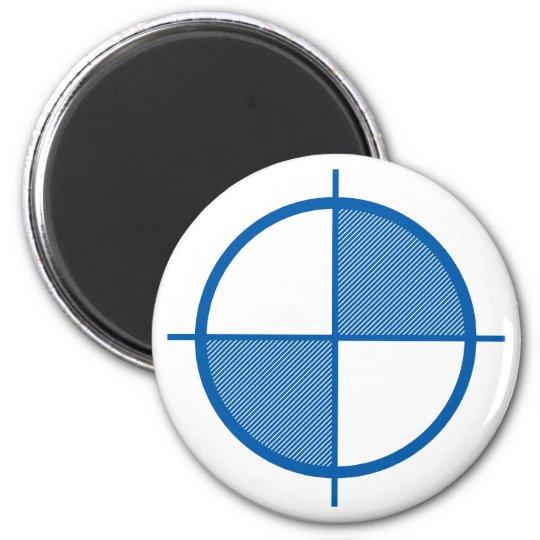 Elevation Symbol Magnet (blue)