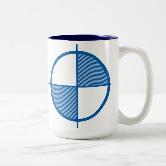 Elevation Symbol Mug (blue)